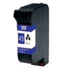 Cartus HP-45 compatibil black - 51645A