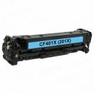 HP CF401X cartus compatibil albastru